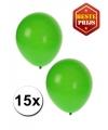 15 groene decoratie ballonnen