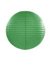 Lampion 25 cm donker groen